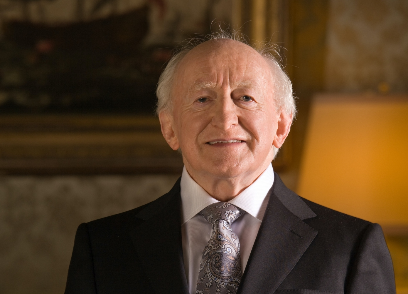President Higgins official photograph with signature